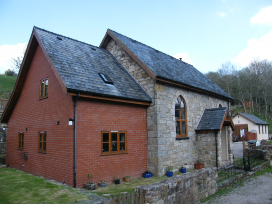 FOR SALE. CONVERTED CHAPEL IN THE MUCH SOUGHT AFTER VILLAGE OF SELATTYN