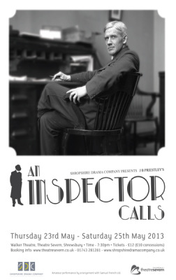 Shropshire Drama Company: Tickets on sale and rehearsals under way for JB Priestley's An Inspector Calls