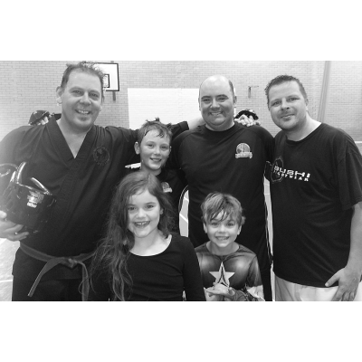 Team Excalibur at the GTI Charity Sparring Event 2013